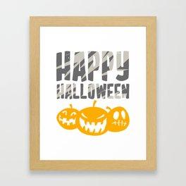 Halloween Kids Spooky Witch Poison T-Shirt Framed Art Print