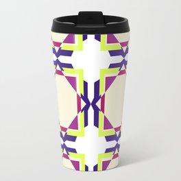Purple Mediterranean Textile Travel Mug