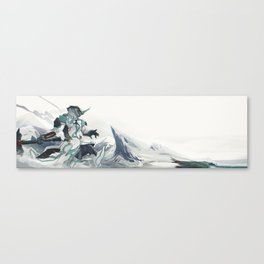 WARFRAME FROST Canvas Print