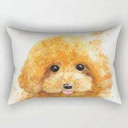 Poodle puppy Rectangular Pillow