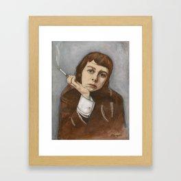 Carson McCullers Framed Art Print