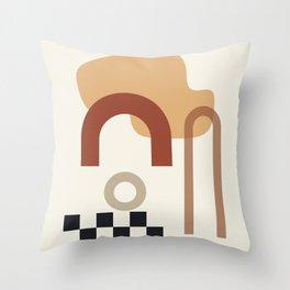// Shape study #23 Throw Pillow