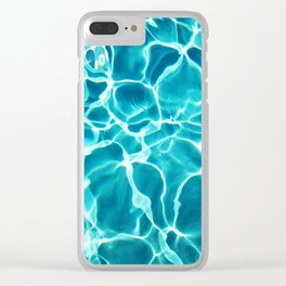 Pool Me Clear iPhone Case