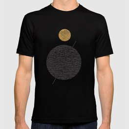 Saturn Abstract #society6 #decor #buyart T-shirt
