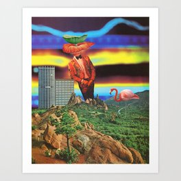 Radiation Propagation Art Print