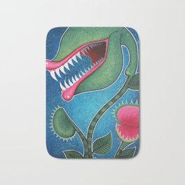 Venus Fly Trap Bath Mat