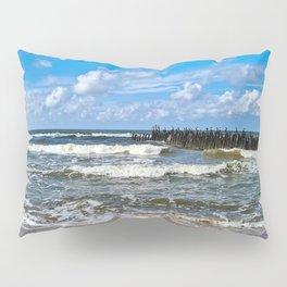 Sea waves | Nature Photography Pillow Sham