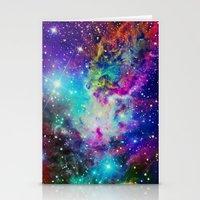 nebula Stationery Cards featuring Fox Nebula by Starstuff
