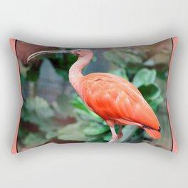 Scarlet Ibis Rectangular Pillow