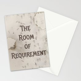 The Room of Requirement Stationery Cards
