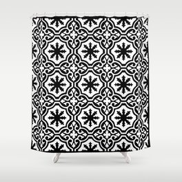 Arabic Style Pattern  Shower Curtain