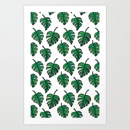 GREEN PLANTS Art Print
