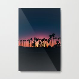 The Perfect Tropical Sunset (Color) Metal Print