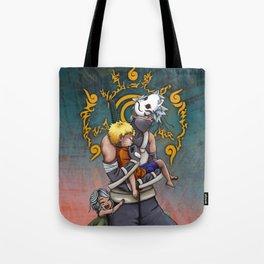 Taking Naruto Home Tote Bag