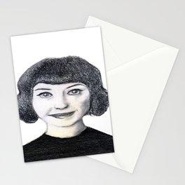 Portrait of Kimbra. Stationery Cards