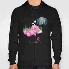 Berto: The Mental-issue pig taking a nap Hoody