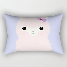 Alpaca in Love V 2 Rectangular Pillow