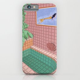 Me Time iPhone Case