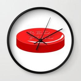 Red Pill Wall Clock