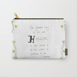 Live With Honor Carry-All Pouch
