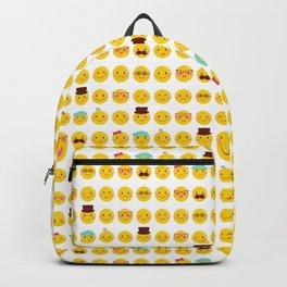 Cheeky Emoji Faces Backpack