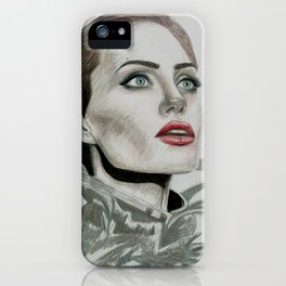 Queen Angie iPhone Case