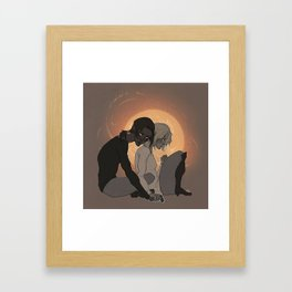"""I told you didn't Ymir..."" Framed Art Print"