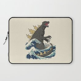 The Great Monster Off Kanagawa Laptop Sleeve