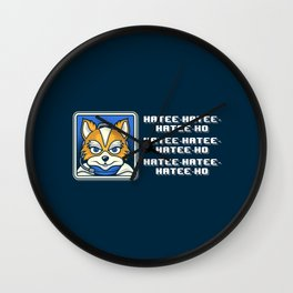 What Does Fox McCloud Say? Wall Clock