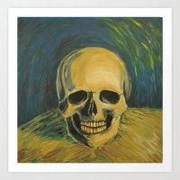 Tribute to Vangogh Art Print