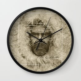 Ernest Shackleton Fake Robert E.Peary (Spanish Version) Wall Clock