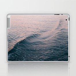 Pink Sunset Waves Laptop & iPad Skin