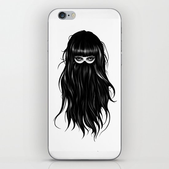 It Girl iPhone Skin