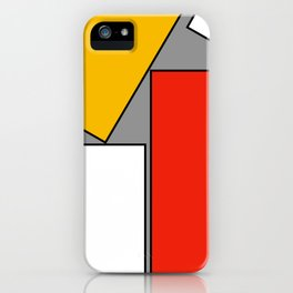 Leaning On You Abstract iPhone Case