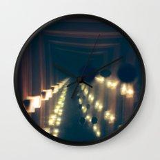 Smoke n' Mirrors Wall Clock