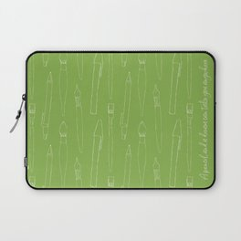 A pencil and a dream... greenery! Laptop Sleeve