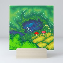 Little pond Mini Art Print