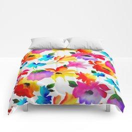 Dancing Floral Comforters