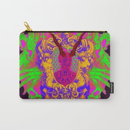 Colorful Headache Carry-All Pouch