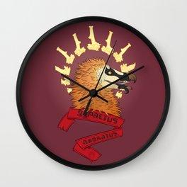 Bearded Vulture bust Wall Clock