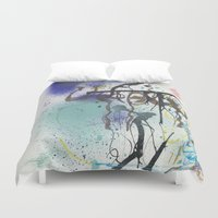 urban Duvet Covers featuring Urban by Ana Guillén Fernández