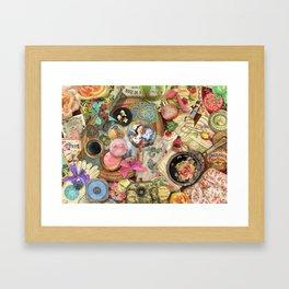 Vintage Vanity Framed Art Print