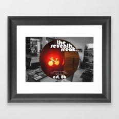 Retro - Est. '86 Framed Art Print
