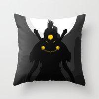 akira Throw Pillows featuring Akira Nakamura by Oblivion Creative