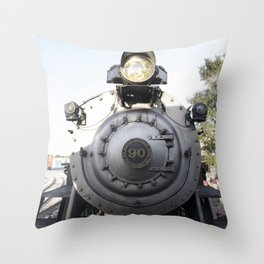 Strasburg Railroad Engine 90 Throw Pillow