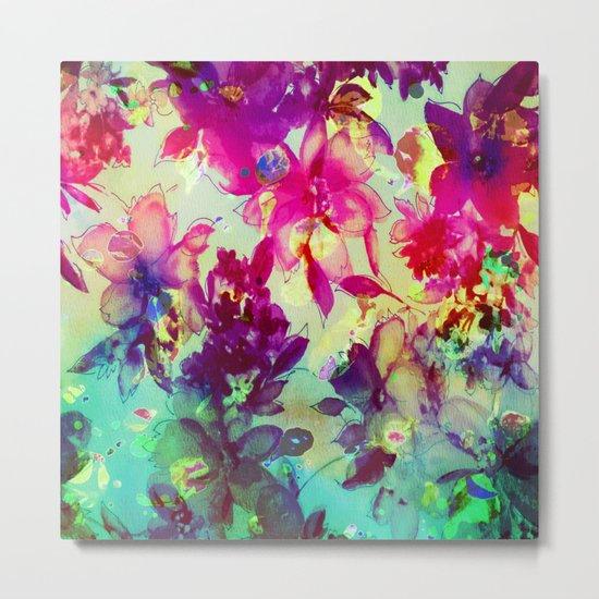 luminous bouquet Metal Print