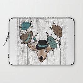 Deer Hat Rack Laptop Sleeve
