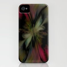Butterfly Feathers Slim Case iPhone (4, 4s)