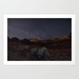 National Monument Stars Art Print