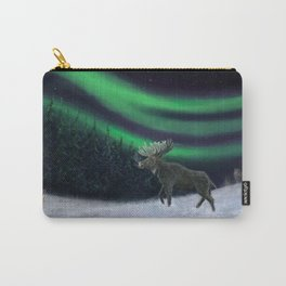 Northern Lights Moose Hunt Carry-All Pouch